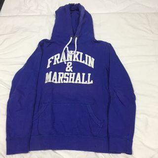 Sudadera morada Franklin & Marshall