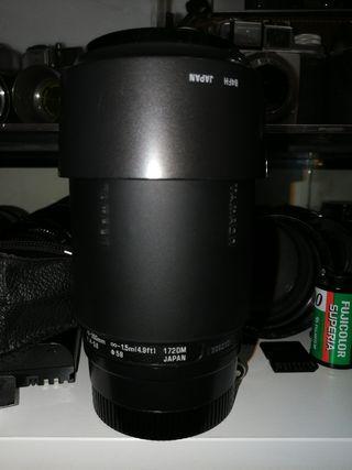objetivo tamron 70-300 para Sony full Frame