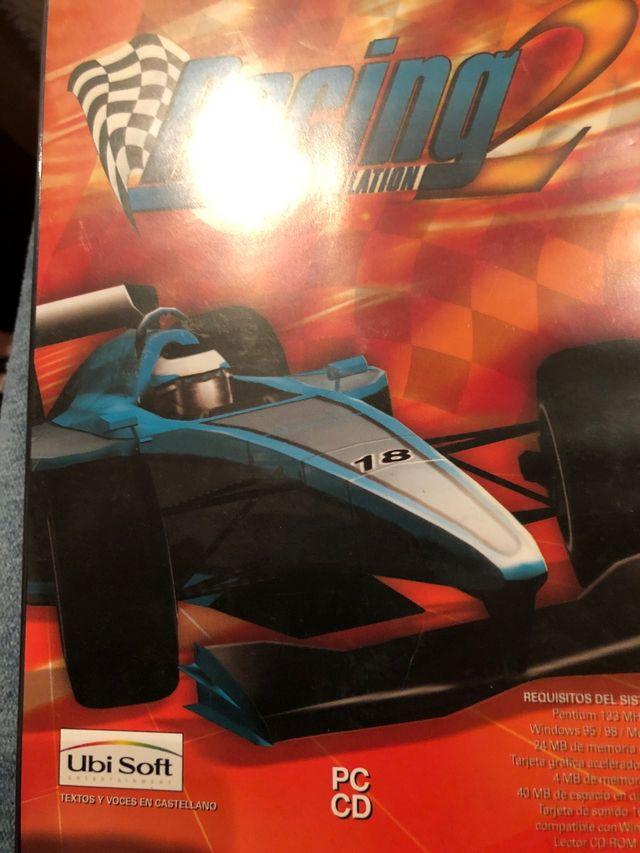 Racing 2 simulation