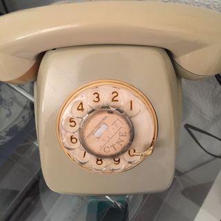 Teléfono antiguo años 70.