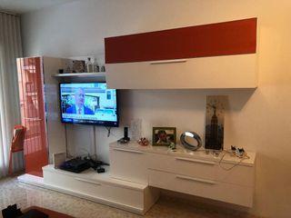 Mueble TV -vitrina para salón