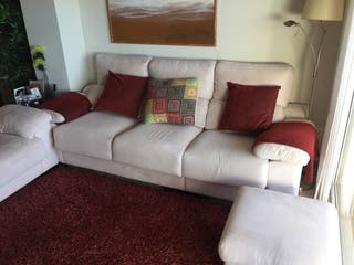 Sofa, sillón y puff