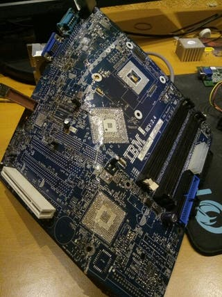 placa base socket 478