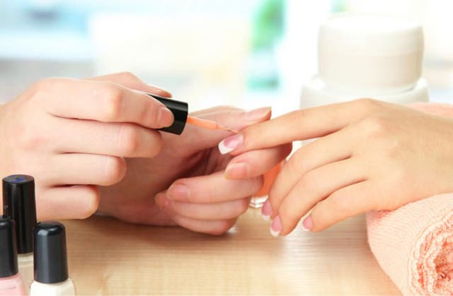 Nail technician and beauty services