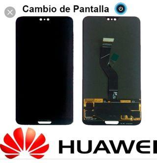 cambio pantalla Huawei