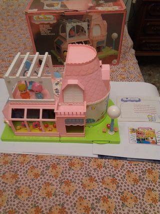 Casa grande pinypon,años 80