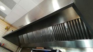 Campana extractora para Restaurante