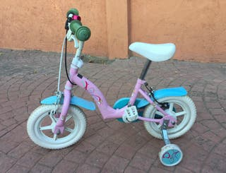 Bicicleta niña para 4 años aproximadamente
