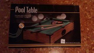 Pool table.Nueva.