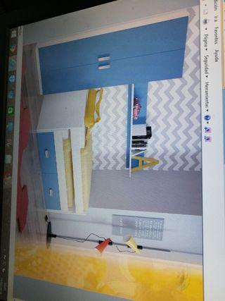 Dormitorio juvenil a estrenar.