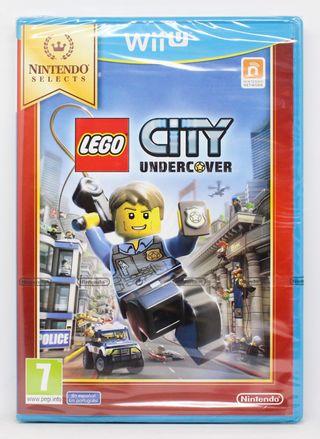 Lego City Undercover WiiU PAL España nuevo