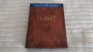 "BOX BLURAY ""EL HOBBIT."""