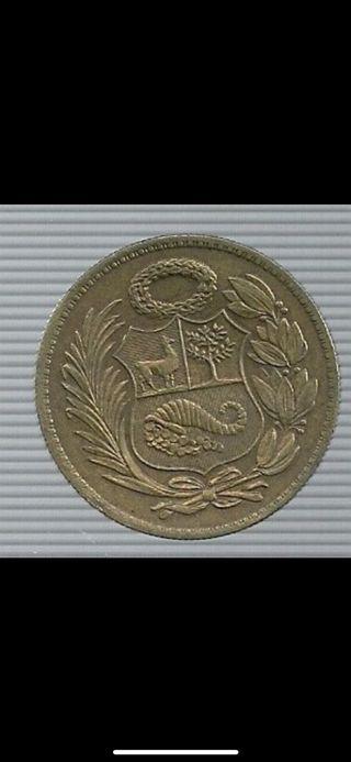 Moneda 1 sol peruano 1947-1951