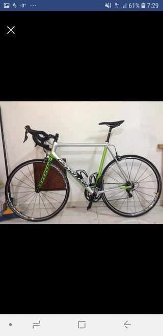 Bicicleta Carretera talla 58 (L) Cannondale