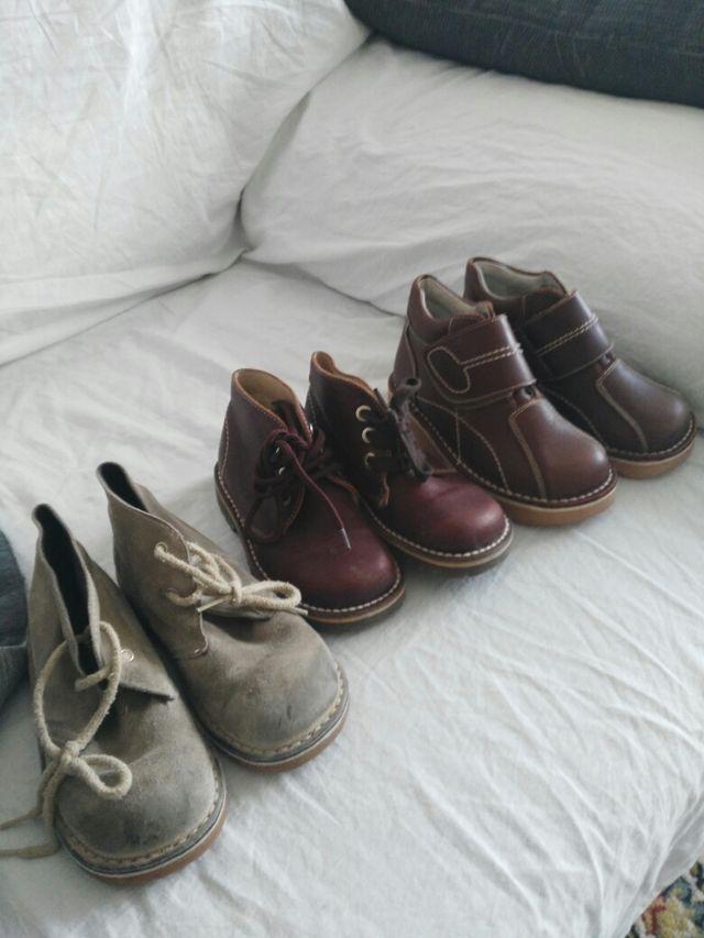 0a486e54438 Zapatos para niño talla 23 y 25 de segunda mano por 15 € en Benidorm ...