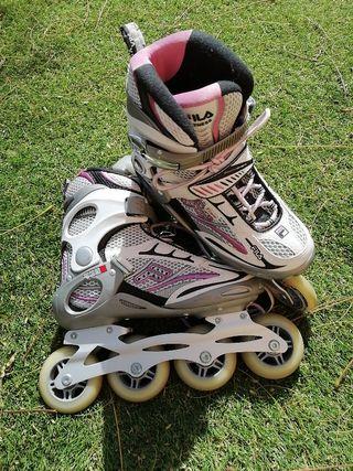 patines en línea profesional marca fila