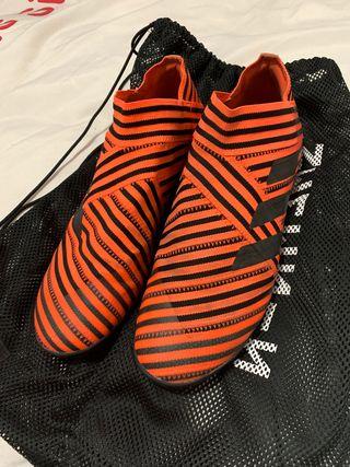Botas de fútbol Adidas nemeziz 43