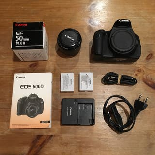 Cámara Reflex digital Canon 600D