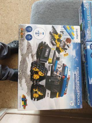 furgon oruga policia