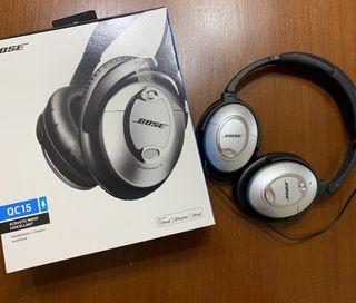 BOSE QC15, auriculares con cancelacion de ruido