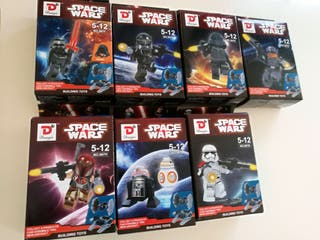 Figuras coleccion tipo lego Star Wars