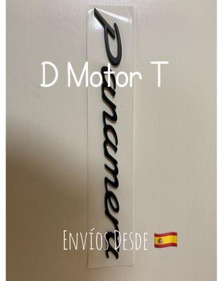 Emblemas anagrama Porsche Cayenne Pannamera Boxter