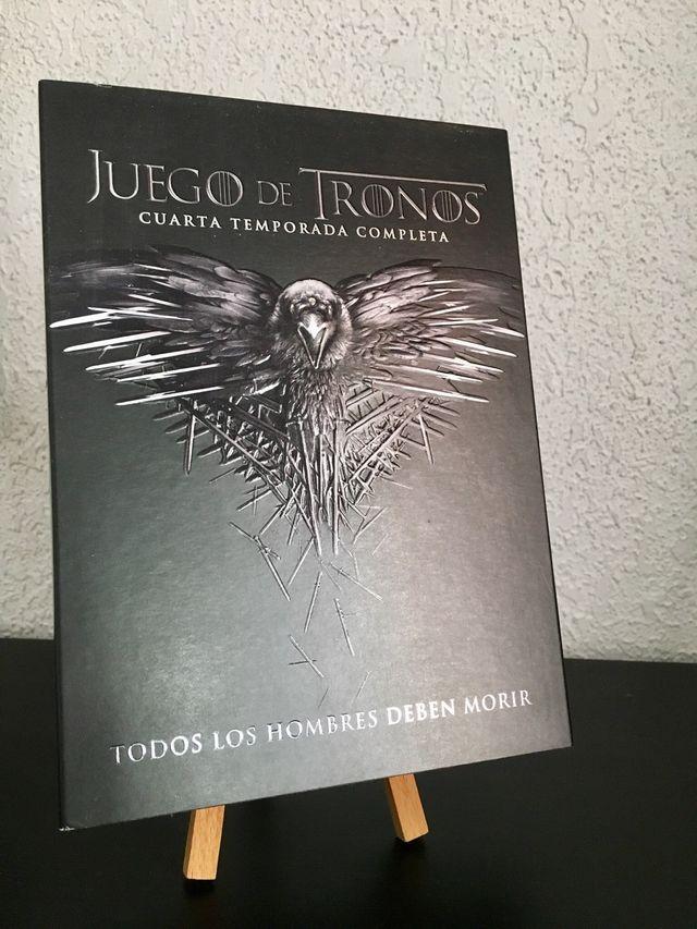 Juego de tronos, cuarta temporada DVD de segunda mano por 20 € en ...