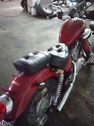 moto clásica yamaha virago 250