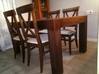 Mesa comedor de segunda mano por 250 € en Gijón en WALLAPOP
