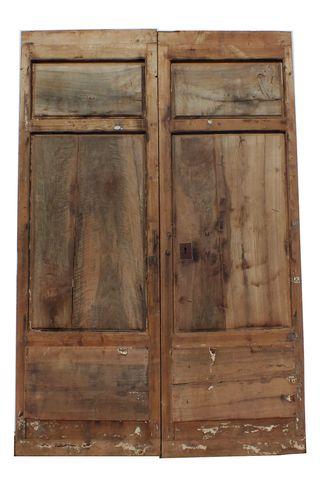 Puertas de madera antiguas de segunda mano en la provincia for Puertas de madera exterior de segunda mano
