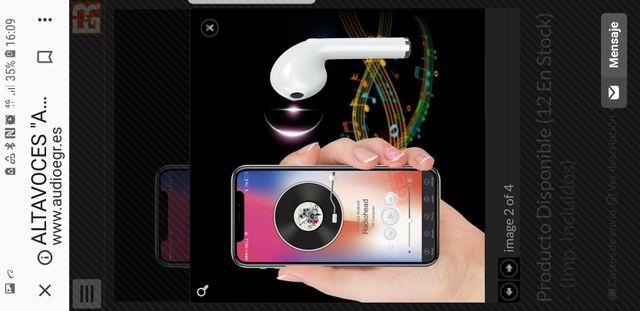 auriculares Bluetooth EGR Garantizados fábrica