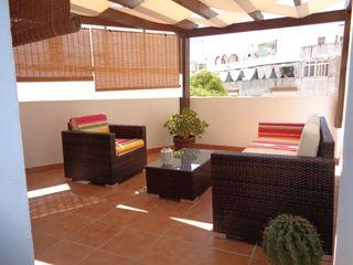 Casa con gran terraza en el centro de Almuñécar