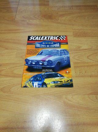 Coleccion Rallyes de España Scalextric