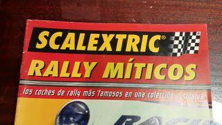 Colección Rally Miticos Scalextric