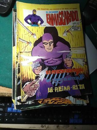 lote 19 cómics el hombre enmascarado