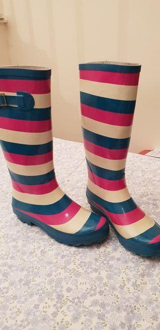 Colour Rubber Boots