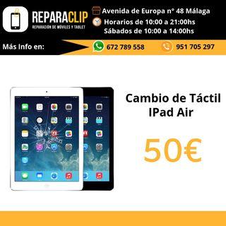 Cambio táctil ipad Air en Malaga
