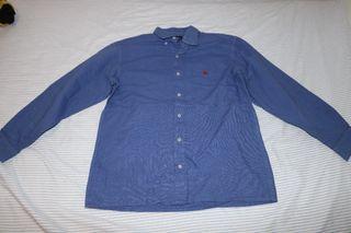 Camisa Azul Burberry