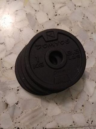 Discos para mancuerna 1 KG