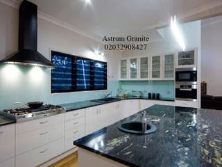 Best Quality Black Forest Granite Kitchen Worktop