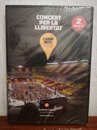 2 DVDS Concert Per La Llibertat NUEVO