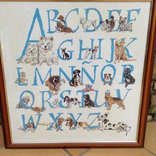 Punto de cruz razas perros - Buen regalo