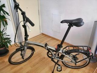 bicicleta plegable monty fusion