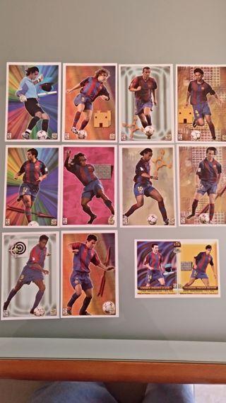 Cards cromos Top Liga 2004 Barcelona Mundicromo