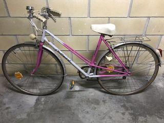 Bici vintage en buen estado