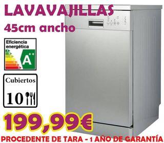 LAVAVAJILLAS ESSENTIAL A++ 45CM INOX