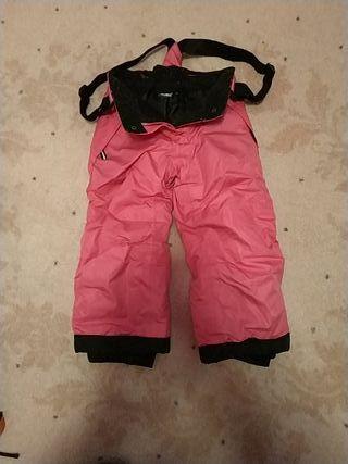 pantalon de nieve para niña