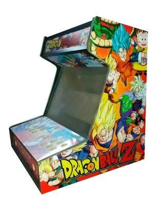 Arcade Bartop Dragon Ball Z DM16 + metacrilatos