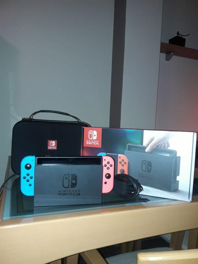 Nintendo Switch en perfecto estado