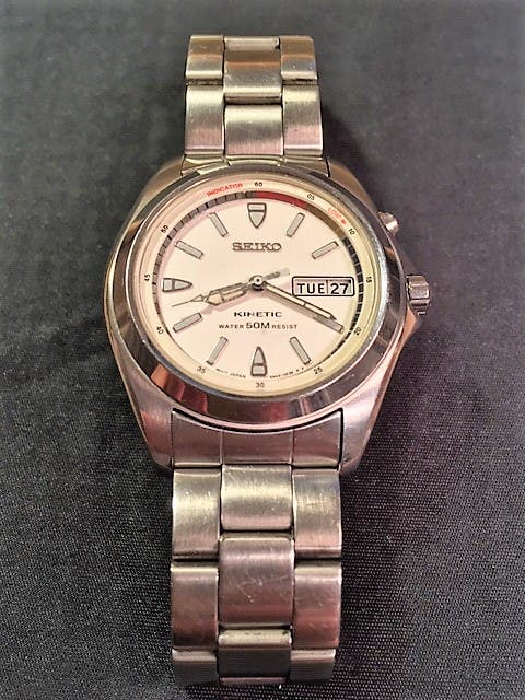 c1a54726c4bd Reloj de pulsera SEIKO KINETIC WR 50M de segunda mano por 64